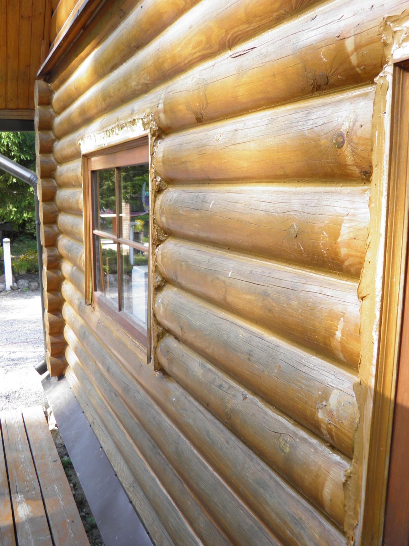 Oregoni hermeetik palkmaja LOG HOUSE
