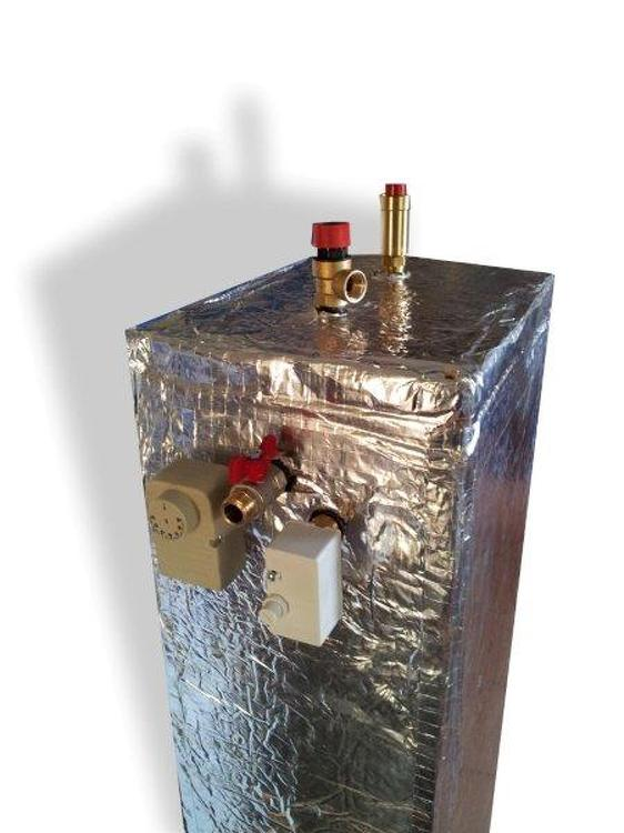 Ion boiler with heat exchanger STAFOR 6-9 HE