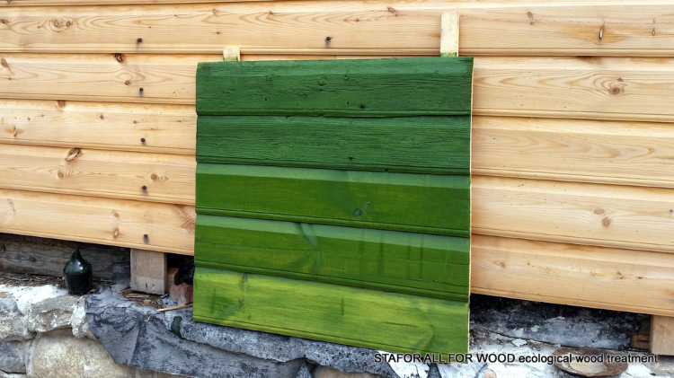 Linaõlivärv-peits NATURA Roheline